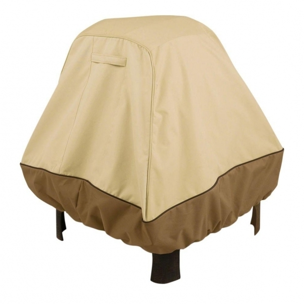 Inspiring Home Depot Fire Pit Cover Classic Accessories Veranda Stand Up Fire Pit Cover 72952 The