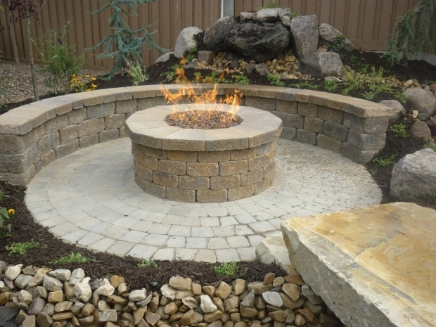 Raised Fire Pit