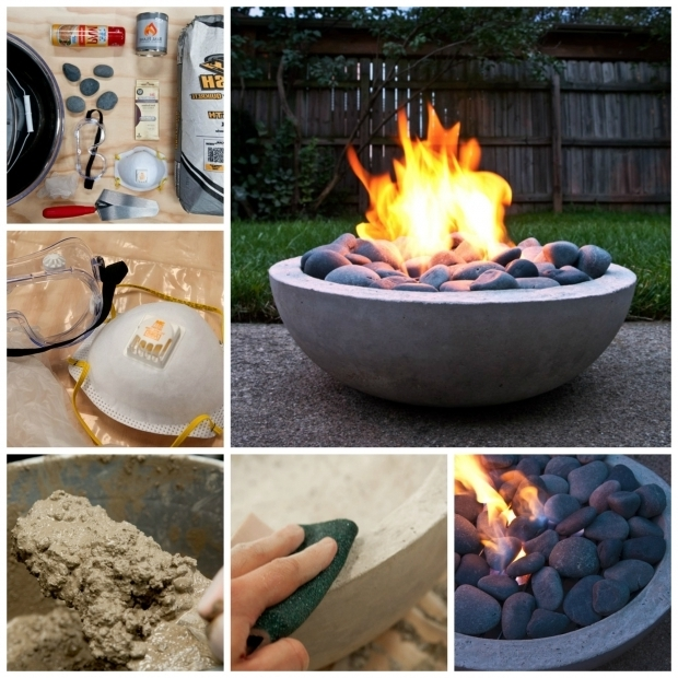 Marvelous Concrete Fire Pit Bowl Known Valley For The Love Of Home Weve Featured Fire Pits