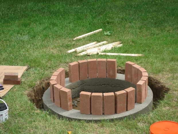Marvelous Fire Bricks For Fire Pit Jemstaa The Fire Pit Project Day 2
