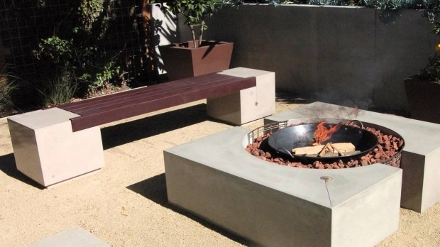 Marvelous Fire Pit Bench Ideas Cinder Block Fire Pit Bench Ideas