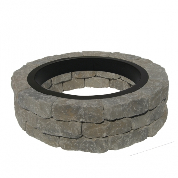 Marvelous Fire Pit Bricks Lowes Shop Fire Pit Project Kits At Lowes