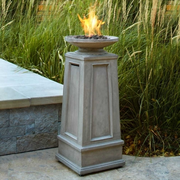 Marvelous Fire Pit Column Backyard Firepits All About Looking Cool And Staying Warm