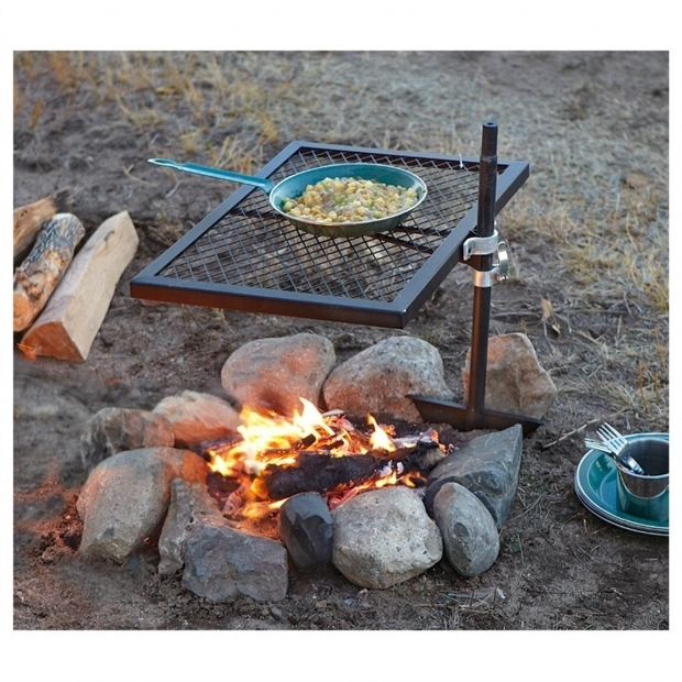 Marvelous Fire Pit Grille Guide Gear Swivel Fire Pit Grill 234364 Stoves At Sportsmans