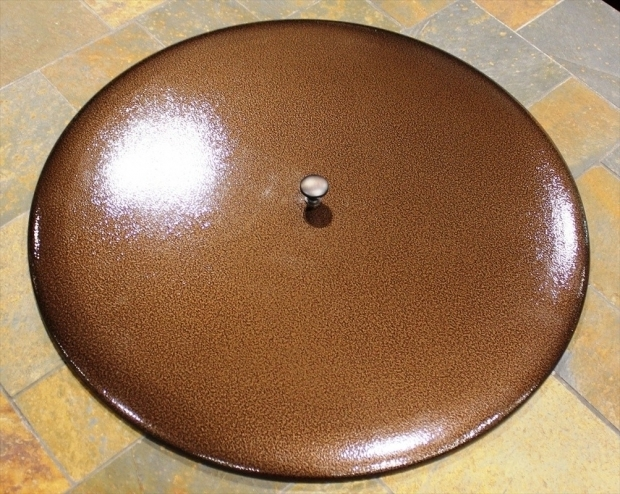 Outstanding Fire Pit Lids Fire Table Fire Pit Metal Lid Cover 22 Oriflamme Tables