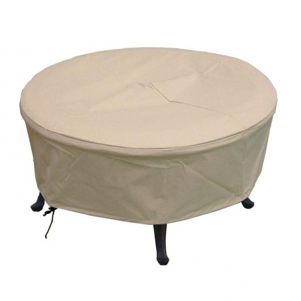 Outstanding Home Depot Fire Pit Cover Hearth Garden 380g Polyester Large Round Patio Fire Pit Cover