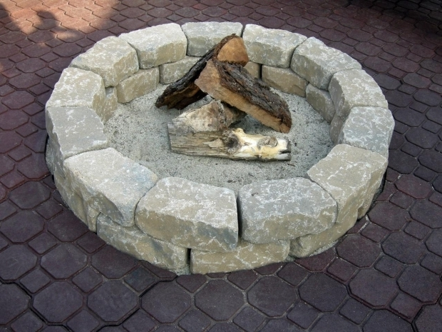 Outstanding Stones For Fire Pit How To Make A Backyard Fire Pit Hgtv