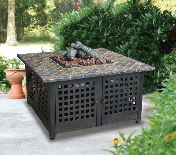 Picture of Blue Rhino Fire Pit Blue Rhino 42 Square Tile Firepit Universal Patio Furniture