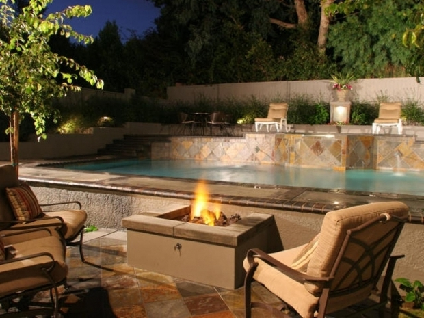 Picture of Building A Gas Fire Pit How To Build A Gas Fire Pit Hgtv