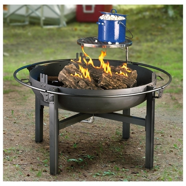 Picture of Fire Pit Rotisserie Cowboy Fire Pit Rotisserie Grill 282386 Stoves At Sportsmans