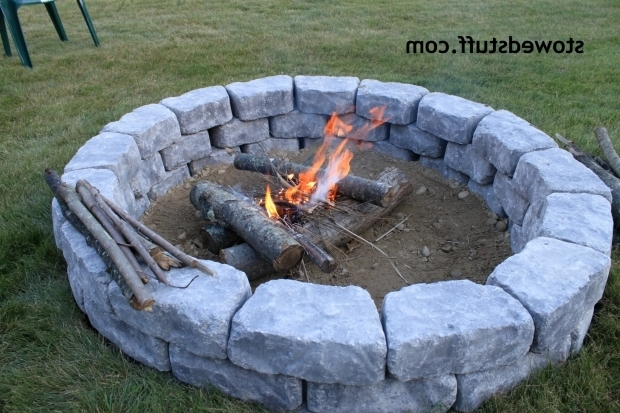 Picture of How To Build A Fire In A Fire Pit How To Build A Fire Pit Stowed Stuff