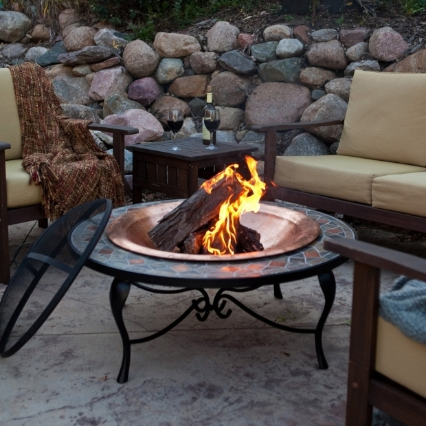 Picture of Moveable Fire Pit Outdoor Standing Fire Pit Portable Fire Pit Portable Gas Fire