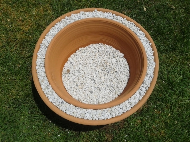 Picture of Terra Cotta Fire Pit 50 Fire Pit Using Concrete Tree Rings 5 Steps With Pictures