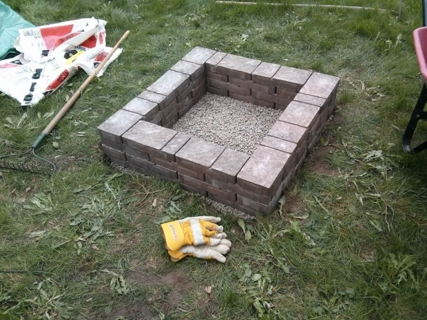 How to build a cheap fire pit fire pit ideas for Make a fire pit cheap