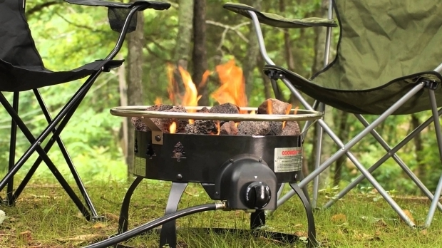 Remarkable Propane Fire Pit Camping Camp Chefs Fire Pits Youtube