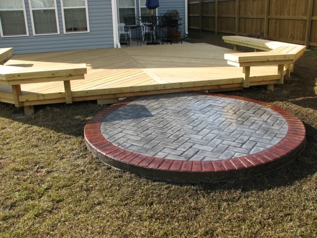 Stunning Fire Pit On Wooden Deck Fire Pit For Wood Deck