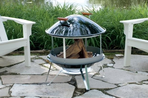 Stunning Mobile Fire Pit Awesome Permanent And Mobile Outdoor Fire Pit Design Ideas