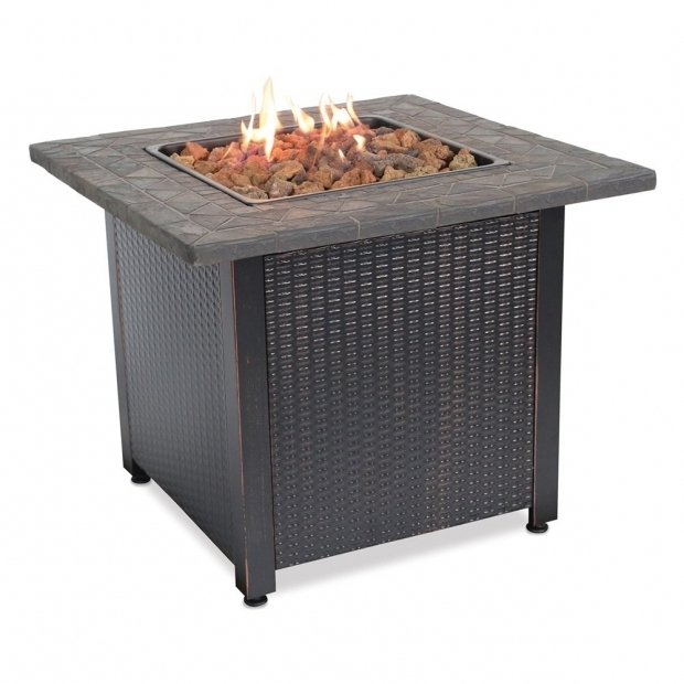 Stylish Blue Rhino Fire Pit Blue Rhino Gad1401m Endless Summer Square Lp Gas Fire Pit The Mine