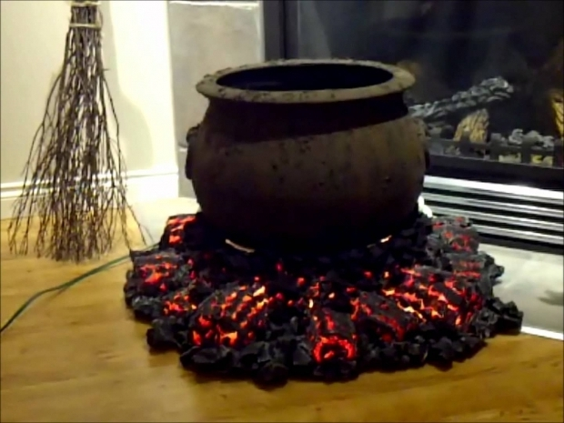 Stylish Fake Fire Pit Halloween Cauldron And Fire Pit Start Of First Project For