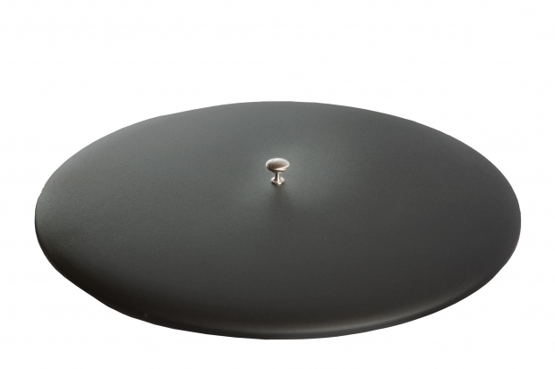 Stylish Fire Pit Lids Fire Table Fire Pit Metal Lid Cover 22 Black Fire Pit