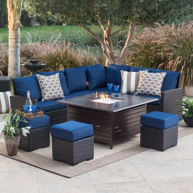 Stylish Patio Sets With Fire Pit Table Belham Living Meridian Fire Pit Chat Set Fire Pit Patio Sets At