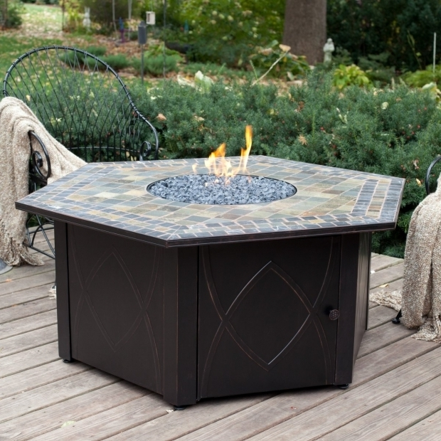 Stylish Patio Sets With Fire Pit Table Darlee Fire Pit Table Oakland Living Moonlight Gas Fire Pit Table
