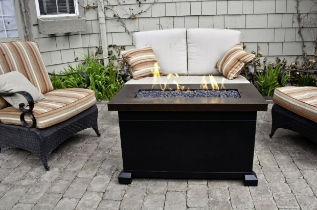 Rectangle Fire Pit Table