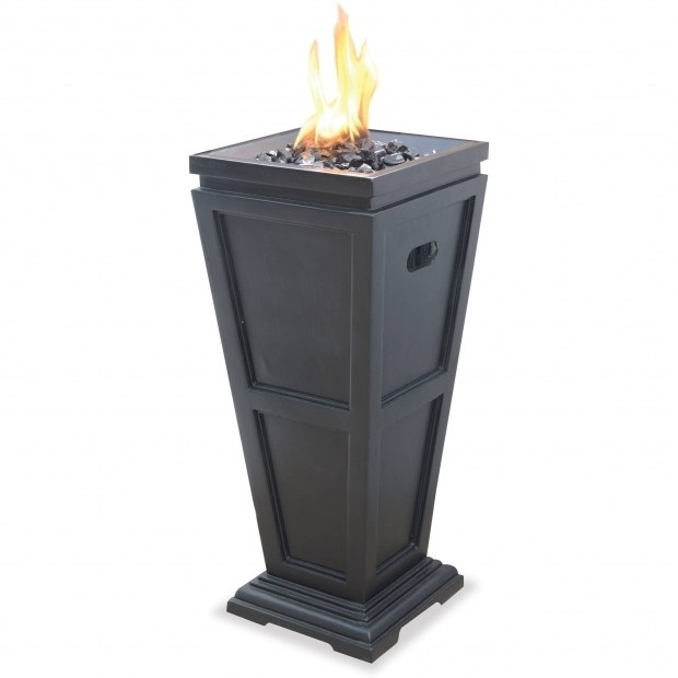Wonderful Fire Pit Column Uniflame Lp Gas Fire Pit Column Medium Walmart
