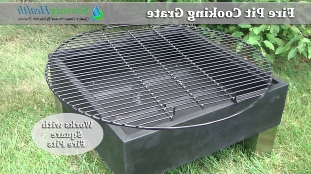 Wonderful Fire Pit Grate For Cooking Fire Pit Cooking Grate Demo Serenity Health Youtube