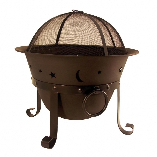 Wonderful Portable Fire Pit Home Depot Hampton Bay Celestial Cauldron Fire Pit Ad364 The Home Depot