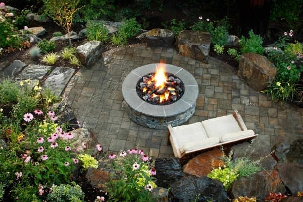 Wonderful Woodland Fire Pit 5 Fire Pit Ideas To Steal For Cozy Fall Nights Hgtvs Decorating