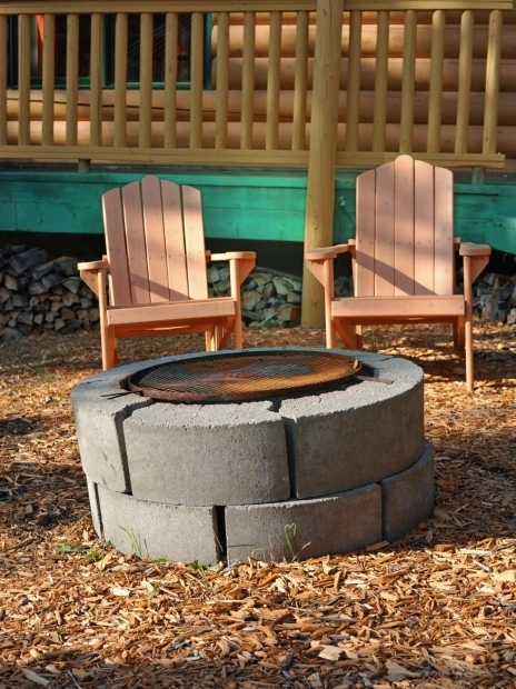 Alluring How To Make A Cinder Block Fire Pit Cinder Block Fire Pits Design Ideas Hgtv