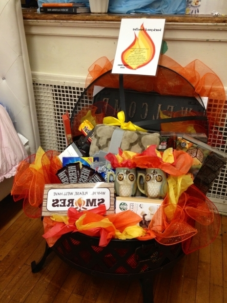 Awesome Fire Pit Gift Basket Fire Pit Auction Basket Auction Basket Ideas Pinterest