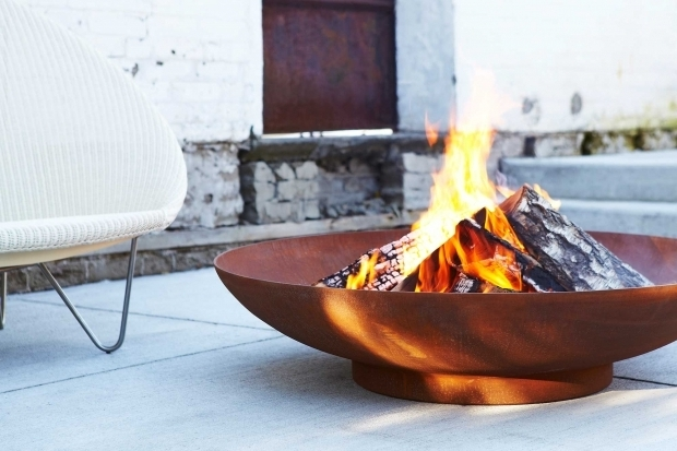 Awesome Paloform Fire Pit Modern Firepits Concrete Tiles And Fireplaces Paloform