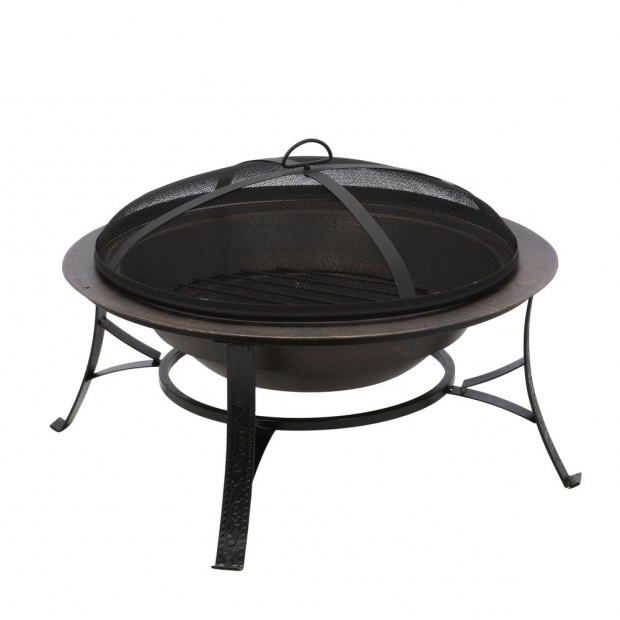 Delightful Cast Iron Fire Pits Cobraco Cast Iron Copper Fire Pit Fb6132 The Home Depot