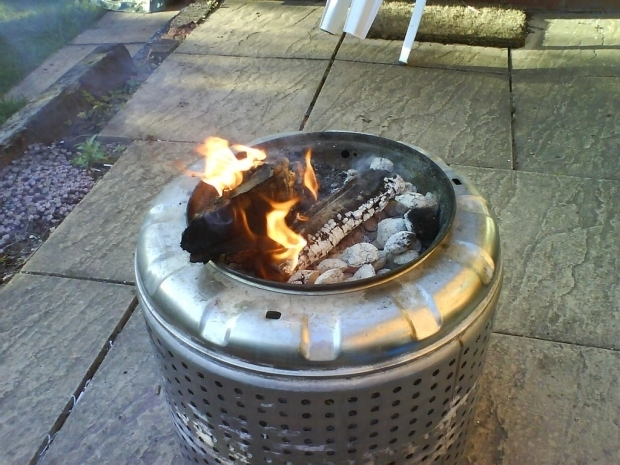 Delightful Fire Pit Liners How To Build Your Own Fire Pit 6 Steps With Pictures