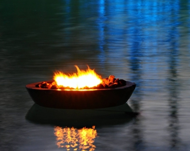 Delightful Floating Fire Pit Encore Floating Fire Pit Night Encore Creative