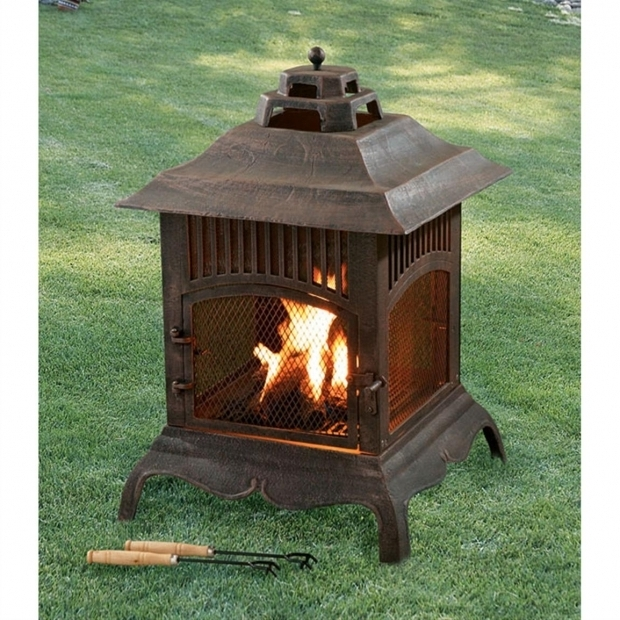 Delightful Heavy Duty Cast Iron Fire Pit Pagoda Cast Iron Chiminea 80637 Fire Pits Patio Heaters At