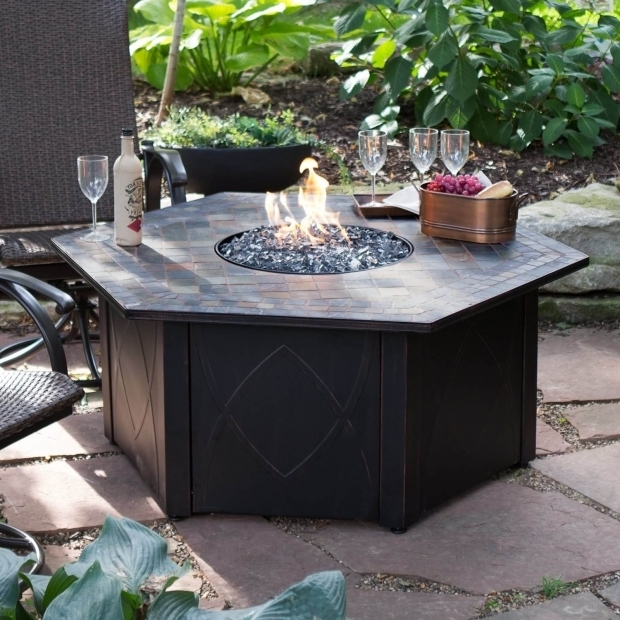 Delightful Propane Fire Pit Tables Top 15 Types Of Propane Patio Fire Pits With Table Buying Guide