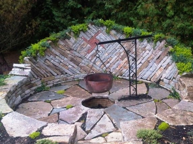 Delightful Sojoe Fire Pit Sunken Firepit For Cooking Sunken Fire Pits Pinterest Fire