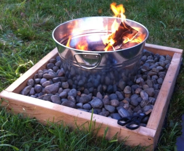 Fantastic Fred Meyer Fire Pits Build A Fire Pit For Around 50 Supplies 1 Large Metal Tin