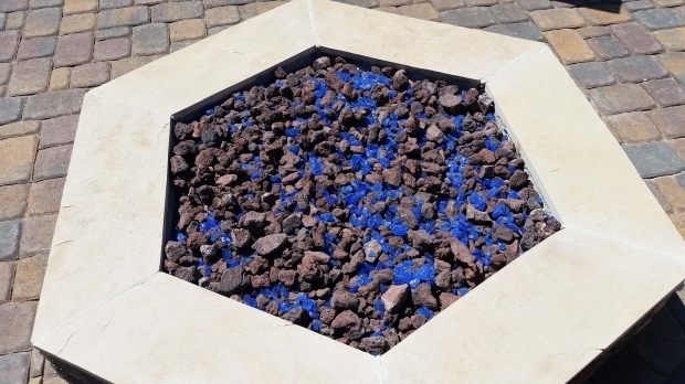 Fantastic Lava Rock Fire Pit Fire Pits Designed Az Living Landscape Call 480 390 4477