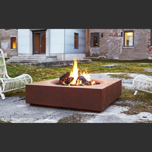 Fantastic Paloform Fire Pit Caldera Cor Ten Steel Modern Outdoor Firepit Paloform