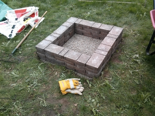 Fantastic Square Brick Fire Pit 30 Spectacular Backyard Diy Fire Pit Seating Ideas