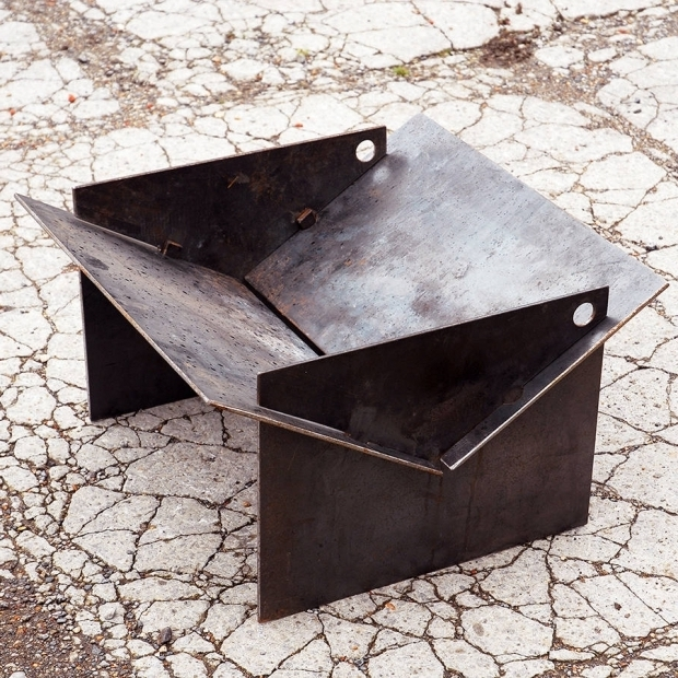Fascinating Collapsible Fire Pit Tecton Steel Collapsible Fire Pit Firepit Pinterest Fire