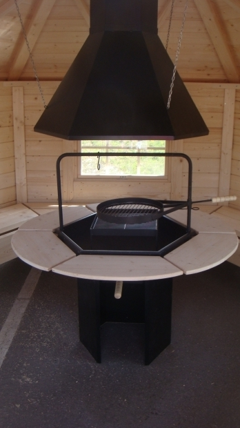 Fascinating Fire Pit With Chimney Grill House Fire Pit With Flue And Chimney Pool Pinterest