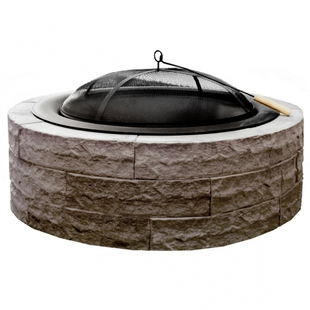 Fascinating Stone Wood Burning Fire Pit Shop Wood Burning Fire Pits At Lowes