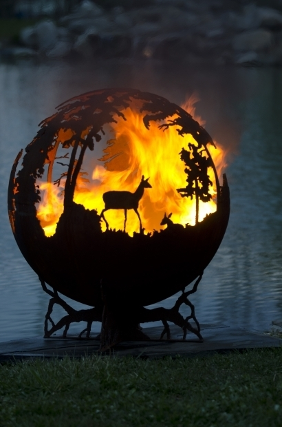 Gorgeous Fire Pit Globe Up North Fire Pit Sphere The Fire Pit Gallery