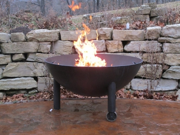 Gorgeous Fire Pit Made From Propane Tank Fire Pit Made From Propane Tank Kbdphoto