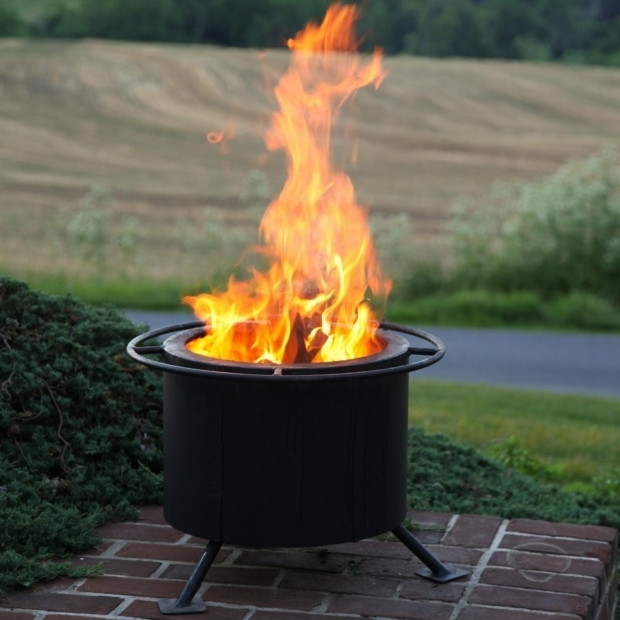 Gorgeous Smokeless Fire Pit Double Flame 15 Inch Smokeless Wood Burning Fire Pit Ultimate Patio